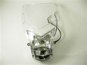 windshield with head ligth 12601-a145-9