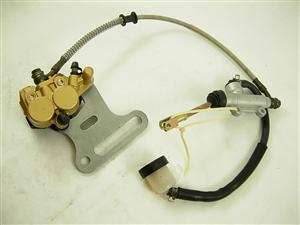 brake assembly/assy ( rear ) 12972-a166-2