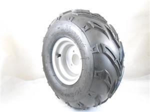 wheel 16x8-7/tire w rim right side  20710-b48-5