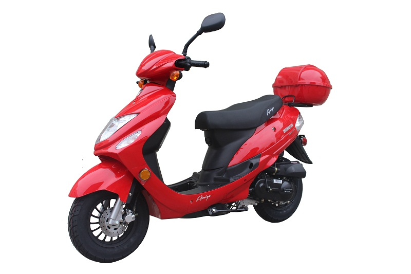Amigo 2018 Beemer-50 49cc Moped Scooter 4 Stroke Single Cylinder CA  Approved - TXPowersports com