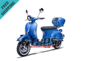 Amigo Znen 2017 VES 150 149cc Street Legal Scooter, 4 Stroke Air Cooled, Remote Start