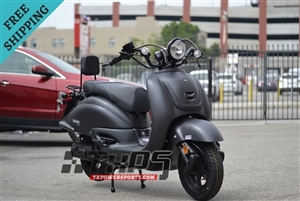 Amigo Znen 2017 ZN150T-G BLACKOUT 149cc Street Legal Scooter, 4 Stroke Air Cooled