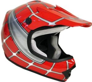 Amz Motocross Helmets For Kids Dirt-Bike Atvs Scooter