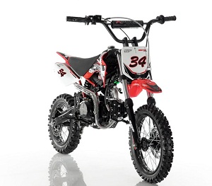 APOLLO DB-34 110cc Semi Automatic DIRT BIKE