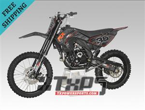 APOLLO DB-36 250cc Manual 5 Gear Dirt Bike, Air cooled, 4 Stroke