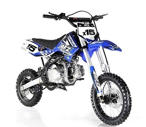 Apollo DB-X15 125cc Manual Clutch Dirt Bike