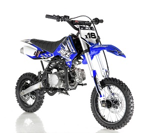 Apollo DB-X16 125cc RFZ Fully Automatic Kick Start Racing Dirt Bike,