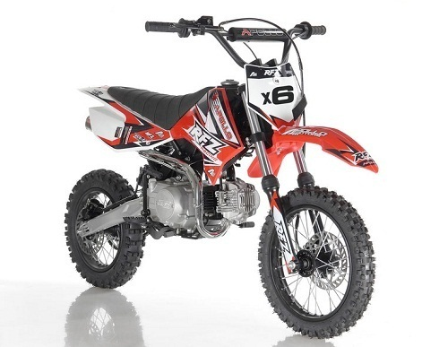 Apollo DB-X6 125cc Fully Automatic ( Kick Start ) 4 Stroke Air Cooled -  TXPowersports com