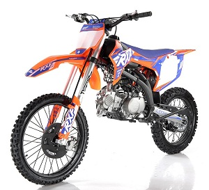 Apollo RXF 150 LMAX Freeride 140cc Dirt Bike, Manual Transmission