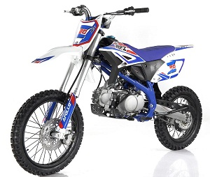 Apollo New Z20 125cc Dirt Bike, 4-Speed (Manual) Single-Cylinder