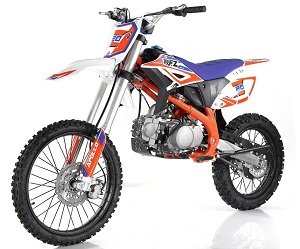 Apollo New Z20 Max 125cc Dirt Bike, 4-Speed (Manual) Single-Cylinder