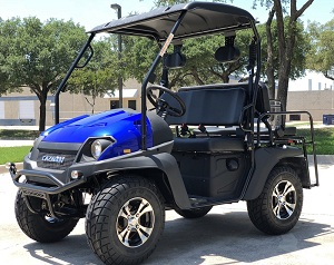 Fully Loaded Cazador Outfitter 200 Efi Golf Cart 4 Seater UTV