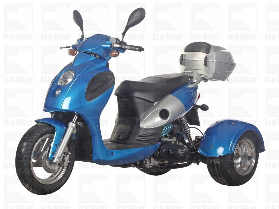 ICE BEAR BULLSEYE 50CC SCOOTER