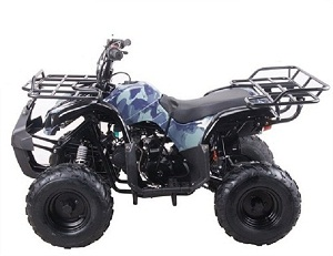 "Kodiak-Hd 125Cc Atv With Reverse Big 16"" Tire"