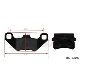 BRAKE PADS FOR COOLSTER ATV