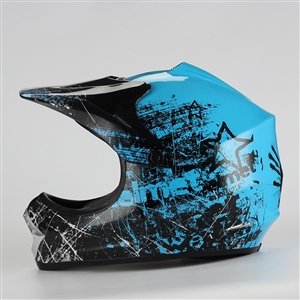 Coolster Motocross Full Face Helmet - Blue