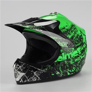 Coolster Motocross Full Face Helmet - Green