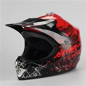 Coolster Motocross Full Face Helmet - Red