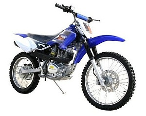 Coolster Deluxe 200cc MX Dirt Bike, 5-Speed Manual Clutch