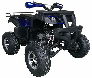 Vitacci UT 200 169CC with Chrome Rims, Air Cooled, 4-Stroke, Cylinder, Automatic