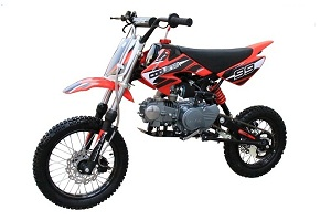 Coolster 125cc Semi Auto Mid Size Dirt Bike - QG-214S