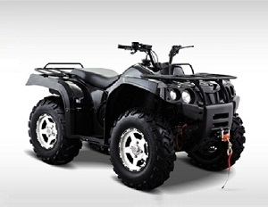 New HiSun Forge 400 ATV, 2WD/4WD