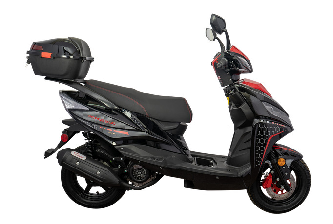 Force 200 EFI Scooter