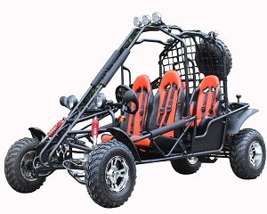 Roketa GK-65L-200 Go Kart, 4-Stroke, Single Cylinder, Horizontal Type