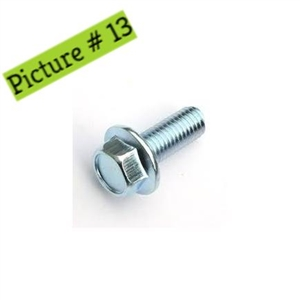 Hex Flange Bolt - M6×16