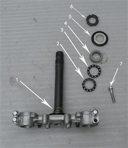 New Hawk 250 Steering stem