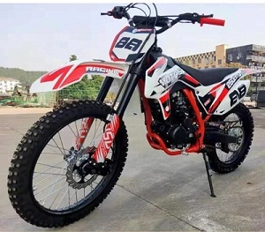 RPS HX250 DLX 250cc Dirt Bike, 5-Speed, 1-Cylinder, 4-Stroke, Electrical & Kick Start