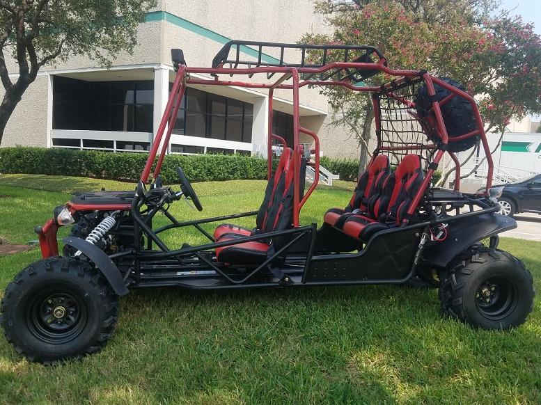 Hummer 4Seat Go Kart