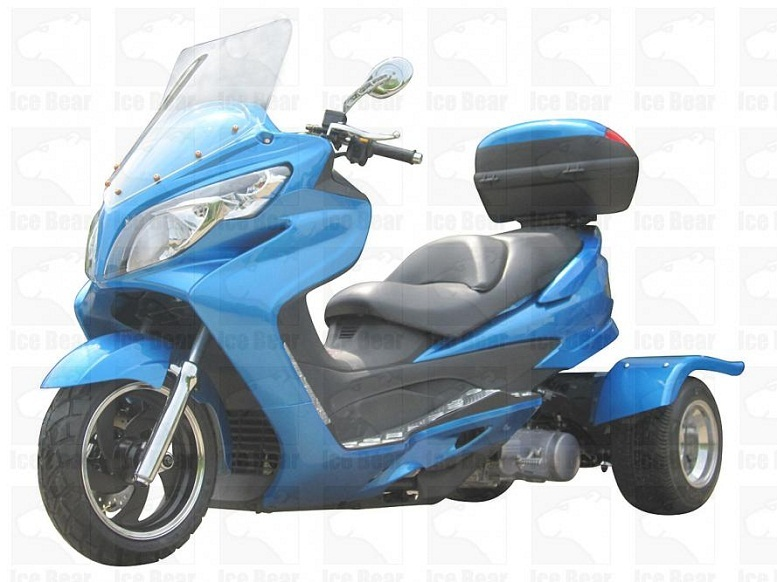 buy ice bear cyclone touring model 150cc trike for sale. Black Bedroom Furniture Sets. Home Design Ideas