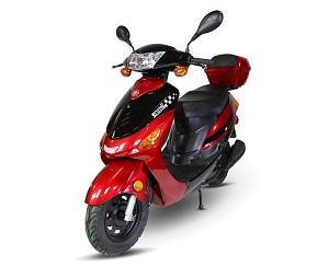 Jasscol (KD-JL50QT-13) 49.3cc Scooter, Single Cylinder, 4 Stroke, Automatic