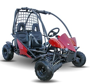 Massimo  GKT-125 Go Kart, 4-Strock,Semi-Automatic with Reverse