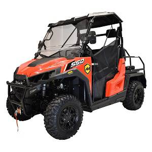 MASSIMO T-BOSS 550X GOLF UTV, 493CC FOUR STROKE SINGLE CYLINDER SOHC, LIQUID COOLED