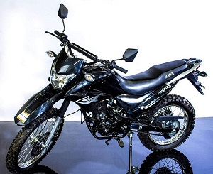 New dirt bike 250 cc Enduro