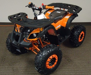 New Mini Desert 125cc Atv, Air Cooling, Single Cylinder, 4 Stroke, Electric Start