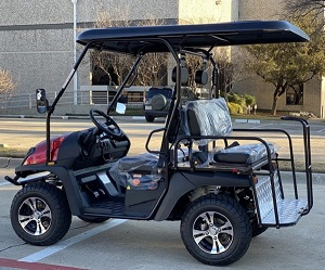 Outfitter 200x Fully Loaded Golf Cart 4 seater