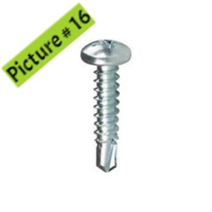 Pen Head Self-tapping Screw - S4.2x12