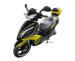 Taotao Phoenix 150Cc Scooter Electric With Keys, Kick Start Ca Legal