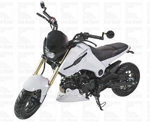 ICE BEAR FUERZA 125CC STREET BIKE MOTORCYCLE (PMZ125-1)