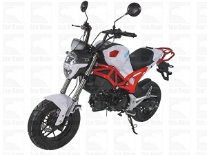 ICE BEAR LITTLE MONSTER AIR COOLED, 4 SPEED (PMZ125-2)