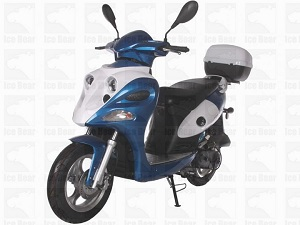 ICE BEAR GHOST (PMZ50-12) 50CC, 139QMB, AUTOMATIC, ELECTRIC AND KICK START