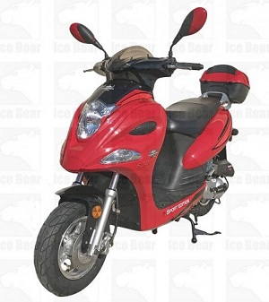 ICE BEAR FALCON (PMZ50-15) 50CC, 139QMB, AUTOMATIC, ELECTRIC AND KICK START