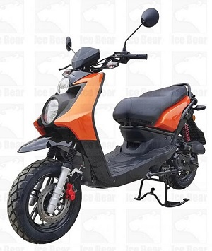 ICE BEAR VISION (PMZ50-17) 50CC, 139QMB, AUTOMATIC, ELECTRIC AND KICK START