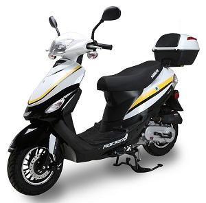 ROCKET PMZ50-4J, 50cc, 139QMB, YinXiang, Automatic, Electric / Kick