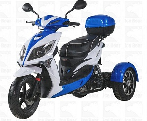 ICE BEAR MOJO MAGIC (PST50-1) 50CC SCOOTER, AUTOMATIC, ELECTRIC AND KICK START