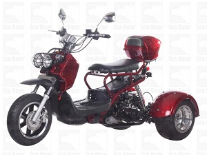 ICE BEAR PLUTO (PST50-5) 50CC SCOOTER, AUTOMATIC, ELECTRIC AND KICK START