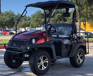 Fully Loaded Cazador OUTFITTER 200 Golf Cart 4 Seater Street Legal UTV